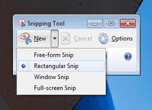 Take Full or Partial Screenshot on Windows 7   Screenshot