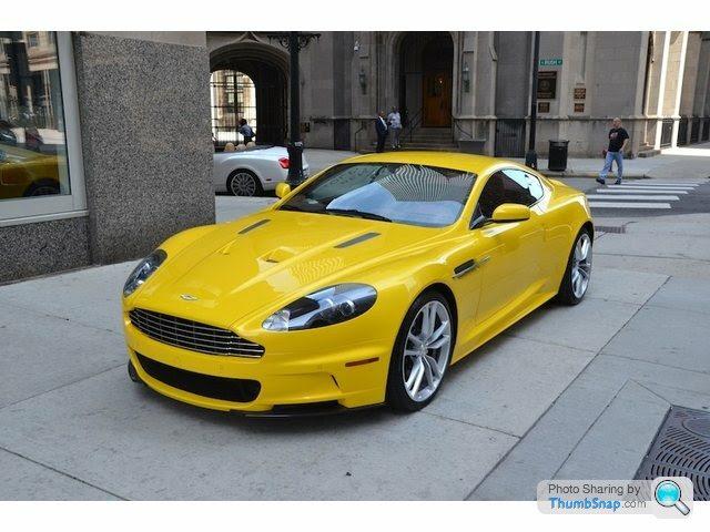 Sunburst Yellow Dbs Page 1 Aston Martin Pistonheads Uk