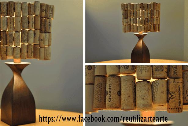 reciclar-tapones-de-corcho-lampara