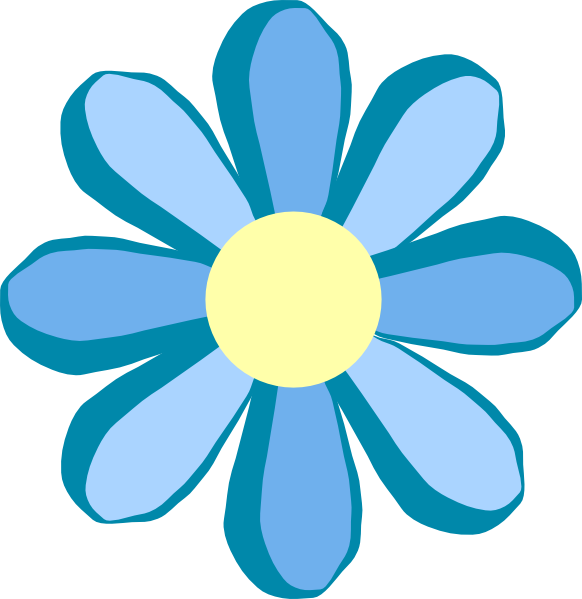 Free Blue Flower Clip Download Free Clip Art Free Clip Art On