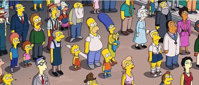 El Viejo Blog Del Morsa Cine The Simpsons Movie La Pelicula Mas Esperada Del Siglo
