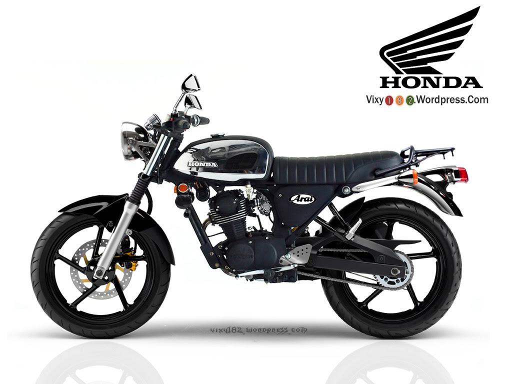 Download Kumpulan Modif Honda Tiger Cafe Racer Terbaru Dan