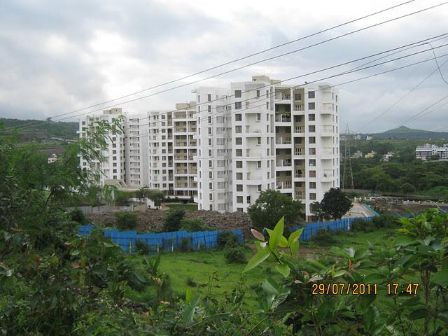 Gloria - Visit to Paranjape Schemes' Gloria Grace, 2 BHK & 3 BHK Flats, at Bavdhan, on Paud Road, Kothrud Annexe, Pune