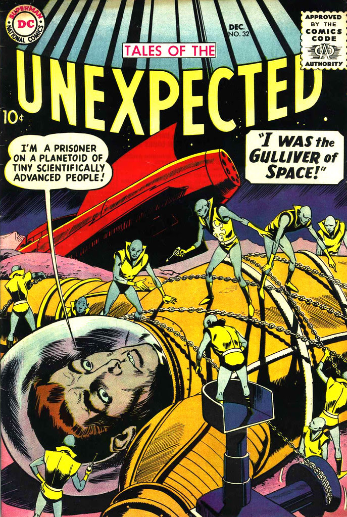 Tales of the Unexpected #32 (DC, 1958) Bob Brown cover