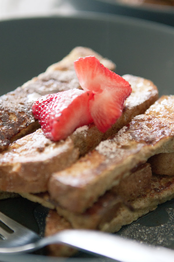 Jenga stacking  French toast