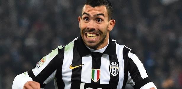 Argentino Carlos Tevez vive grande momento com a camisa da Juventus na Itália