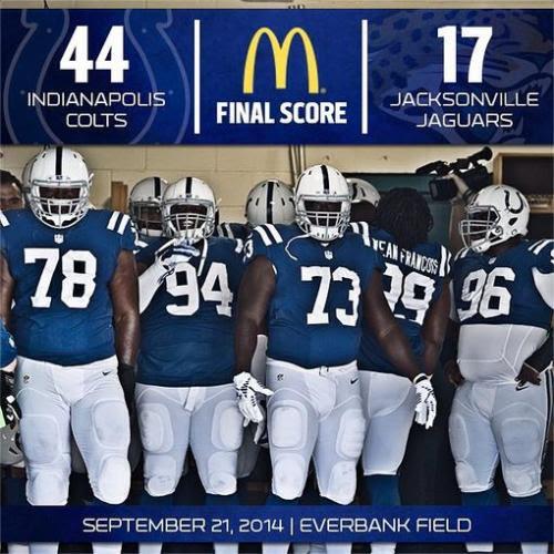 Colts vs. Jaguars