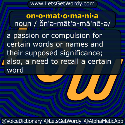 onomatomania 04/06/2014 GFX Definition