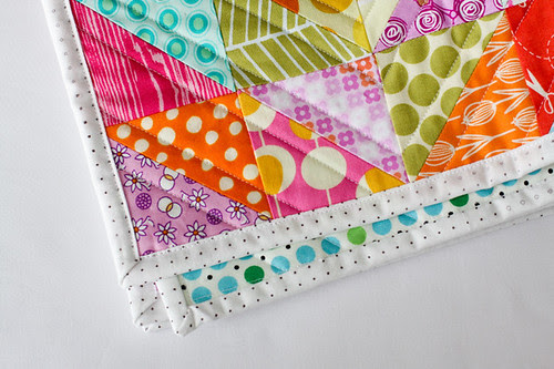 Machine Quilt Binding Tutorial | InColorOrder.com