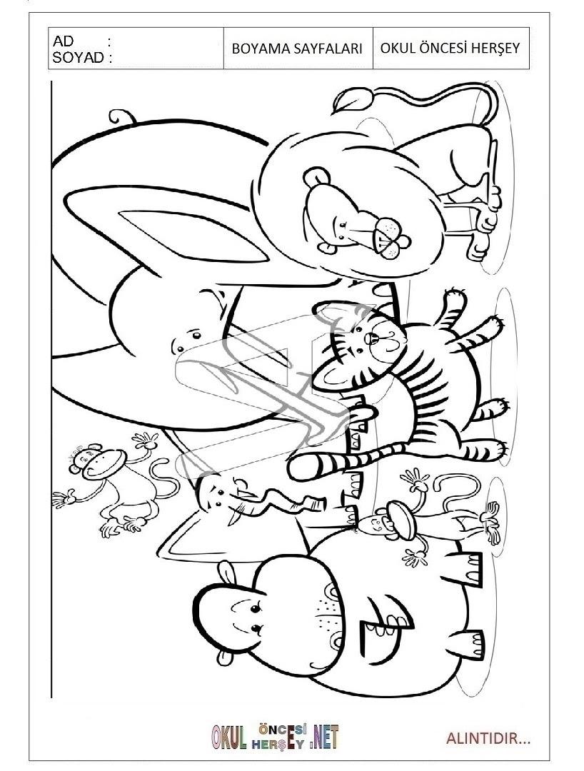 Uğur Böceği Boyama Sayfaları