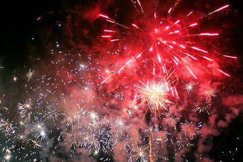 Firework Display - Hogmanay Street Party by foxypar4, on Flickr