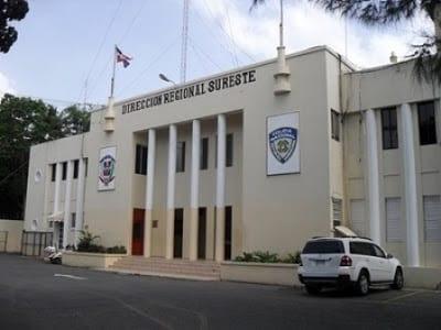 Sede de la Policía San Pedro de Macorís.