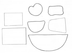 molde como fazer porta panetone eva presentar lembrancinha natal  (5)