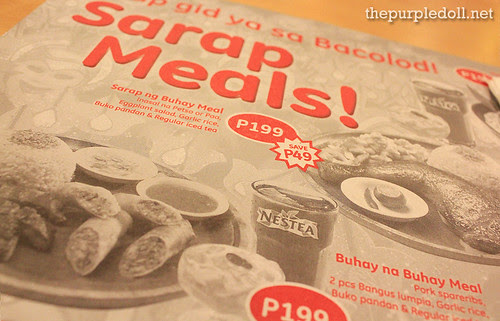 Bacolod Chicken Inasal Sarap Meals