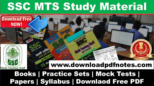 PDF] SSC MTS Free Study Material | Syllabus | Books | Papers