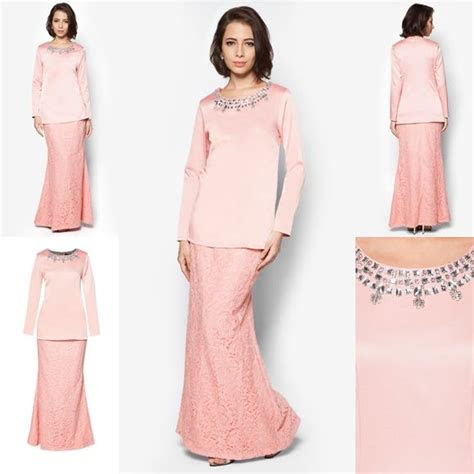 baju kurung moden minimalis baju raya  fesyen trend