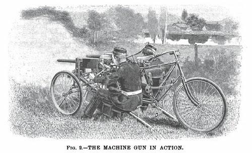 Maxim Gun & Tricycle (1901)