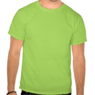 Feeling Lucky $21.95 (Lime) Adult Unisex T-shirt shirt