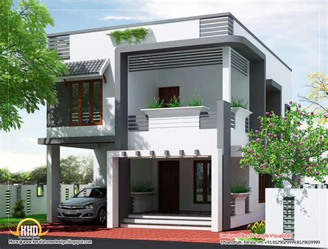 budget home design plan  sq ft kerala home
