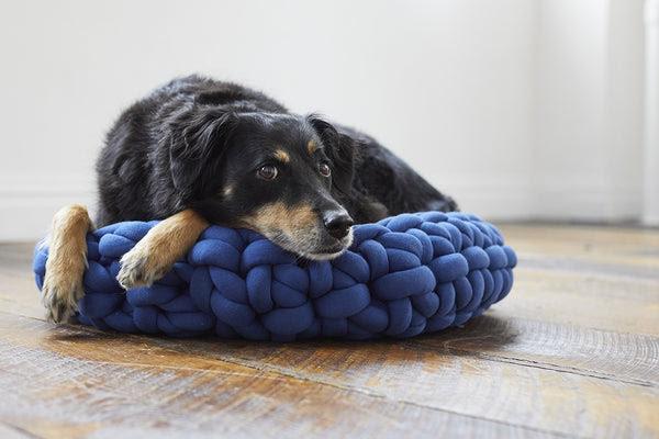 Finger Crochet Pet Bed