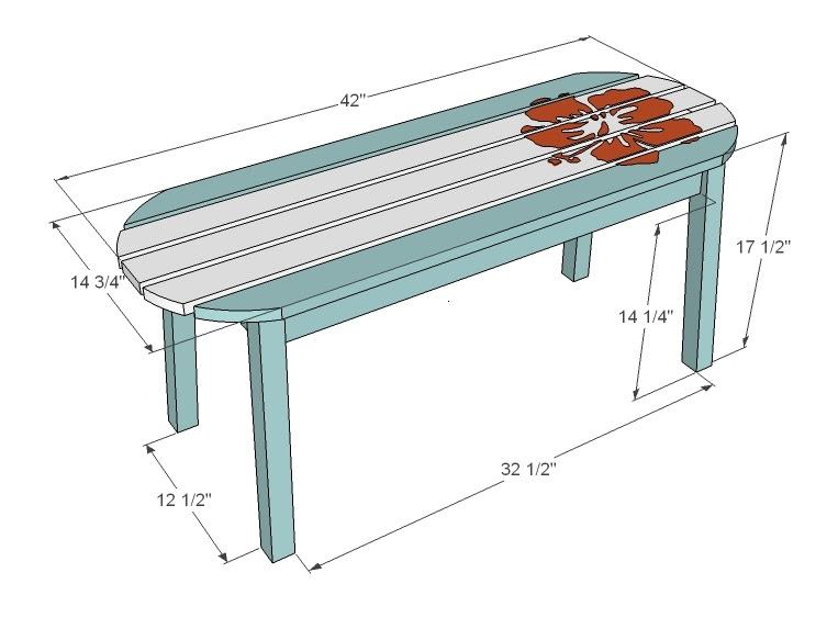 Woodwork Surfboard Coffee Table Plan PDF Plans