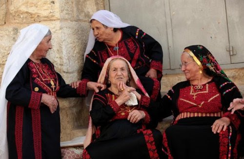 Old Palestinian women (and men) are the soul of Palestine, they are just the most inspiring people. Filled with stories, memories, and history. If you ever get the opportunity to meet one ask them about Palestine before the Israel occupation and during and how their life was. You will NEVER get bored.