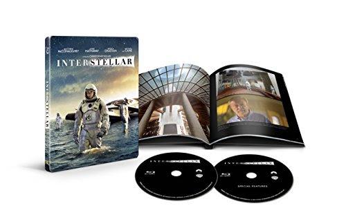 インターステラー ブルーレイ スチールブック仕様(2枚組/デジタルコピー付) [Blu-ray]