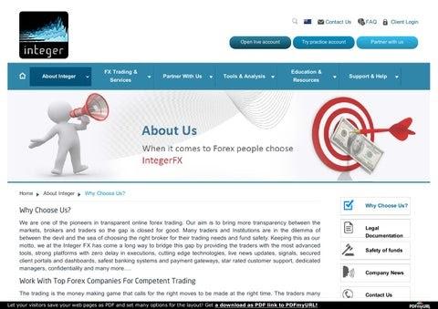 forex trading companies in pakistan