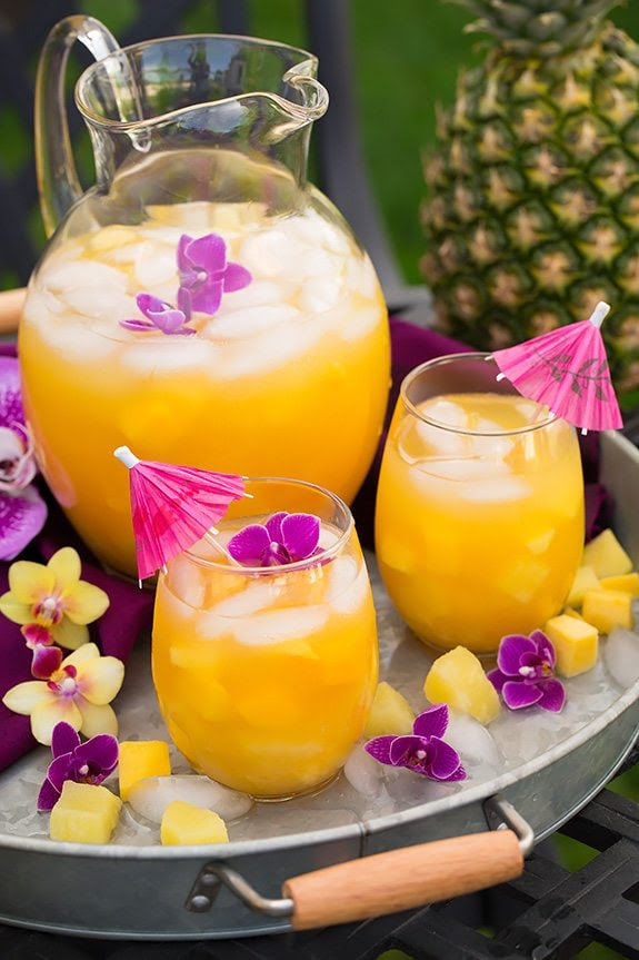Pineapple Mango Lemonade | Cooking Classy