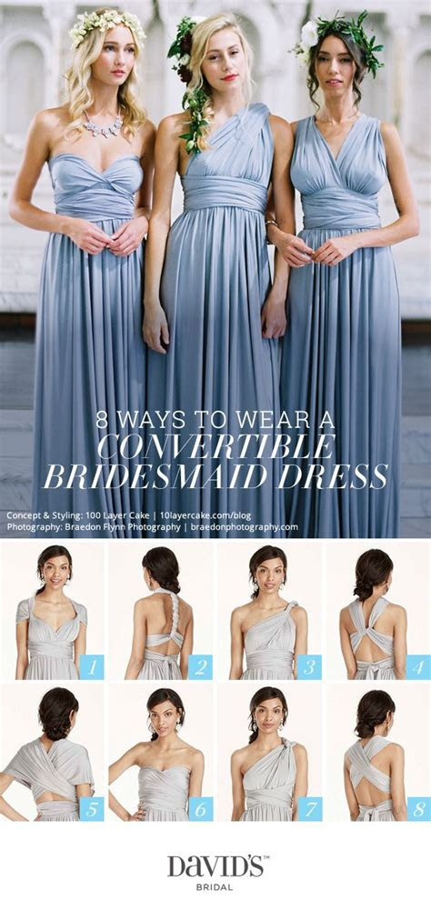 8 ways to style the Versa convertible dress from David's