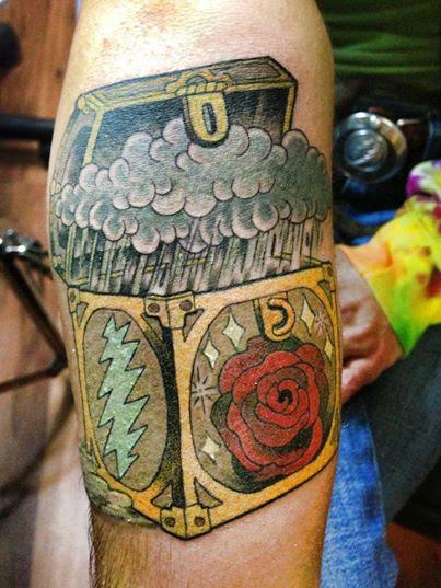 Grateful Dead San Francisco Tattoos Eye Of The Tiger Tattoo