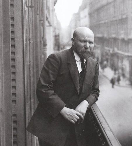 Albert Kahn en 1914. Fotografía de Georges Chevalier