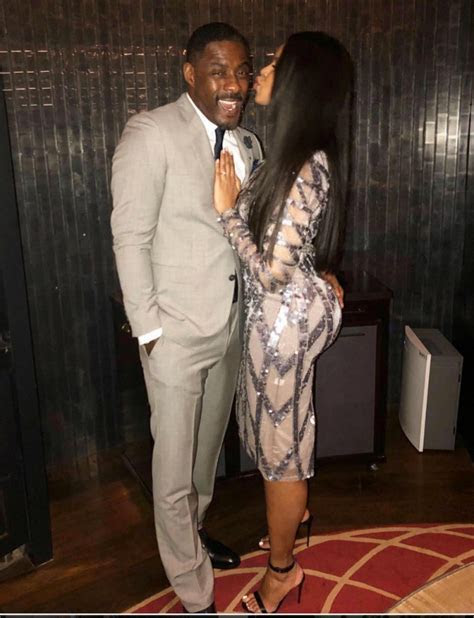 Idris Elba's Fiance Is VERY WELL ENDOWED . . . The Cakes