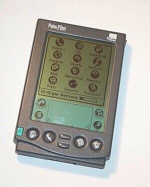 English: 3Com PalmPilot Professional personal ...