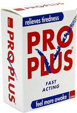 Pro plus: Other stimulants are available