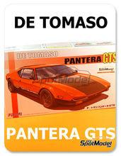 Maqueta de coche 1/24 Fujimi - De Tomaso Pantera GTS - maqueta de plástico