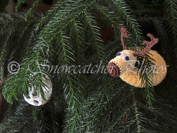 Caribou Floatie Ornament