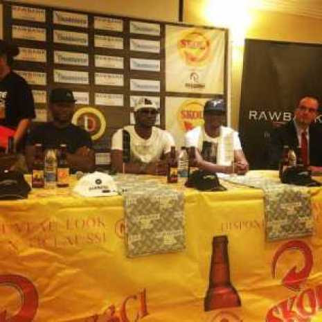 P-Square Unveils Their Own Brand Of Beer In Congo [See Photo]