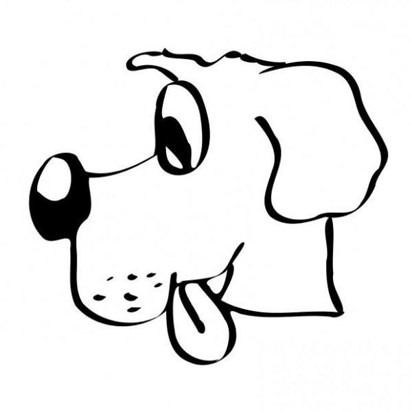 Una Raccolta Di Popolare Cani Disegni Da Colorare Per Bambini
