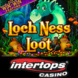 Intertops Casino New Loch Ness Loot Slots Game Has Free Games and Win-Win Bonus Feature