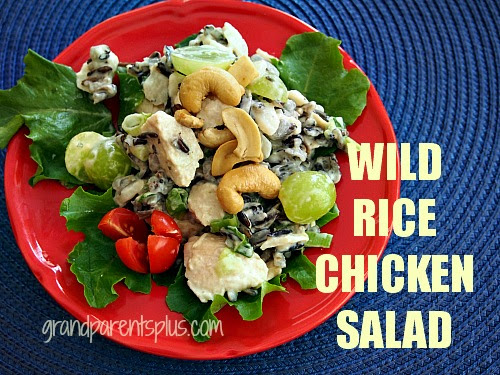 Wild Rice Chicken Salad 002p Wild Rice Chicken Salad