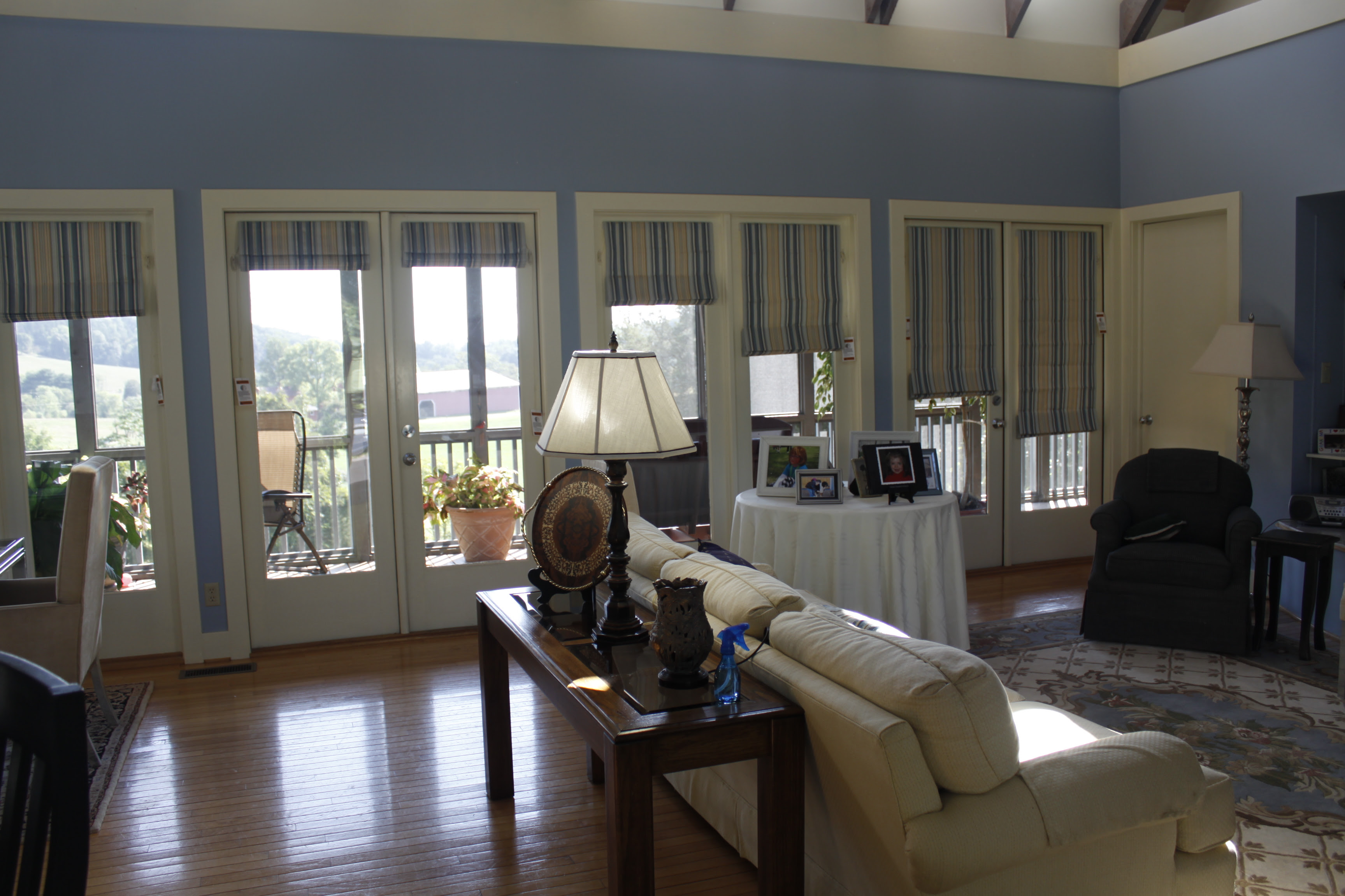 Roman Blinds For French Doors Blinds Center