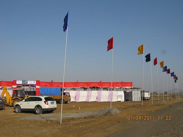 Dajikaka Gadgil Developers' AnantSrishti Kanhe - getting ready to open bookings on April 2, 20111
