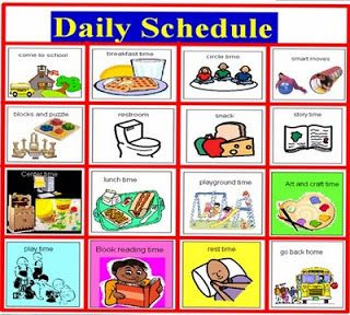 Daily Schedule Student | Daily Planner