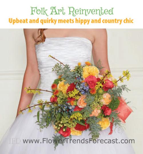 Folk Art Reinvented Wedding