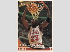 MJ Topps Error (Front) ? Pro Hoops Journal