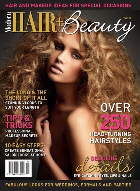 Hair & Beauty V5 ? Modern Wedding magazines