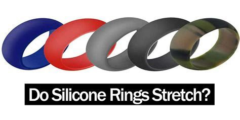 Do silicone rings stretch?