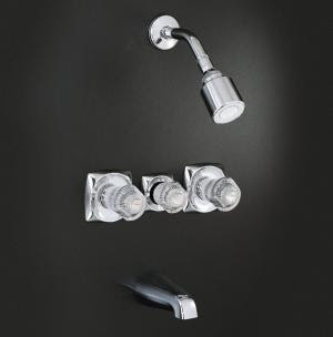 Kohler K 15231 S Coralaisr 3 Handle Bath And Shower Faucet