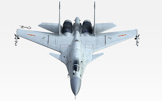 CGI of Chinese J-15 Flying Shark Naval Fighter Jet